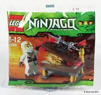 Lego Ninjago 30086 Unsichtbares Schwert Zane Weisser Ninja Polybag Promo Beutel