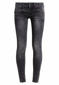 Slim Jeans Donna W31 Pantaloni Grigio nuovi Denim Fit A4067 L30 Gila Splendido AXtg8OA