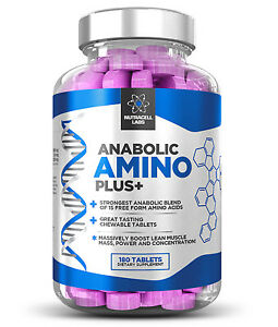 ANABOLIC-AMINO-PLUS-STRONGEST-LEGAL-ESSENTIAL-AMINO-ACID-BCAA-180-TABLETS