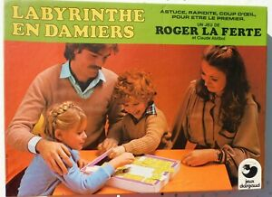 Le-labyrinthe-en-damiers-Dargaud-1979-Cavahel-vintage