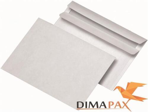 5000 Enveloppes DIN c6 sans fenêtre 114 x 162 mm sk Auto-Adhésif Blanc