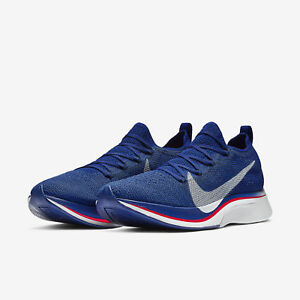 ccca9e17c4b9 Nike Zoom Vaporfly 4% Flyknit Deep Royal Blue Unisex Mens Running ...
