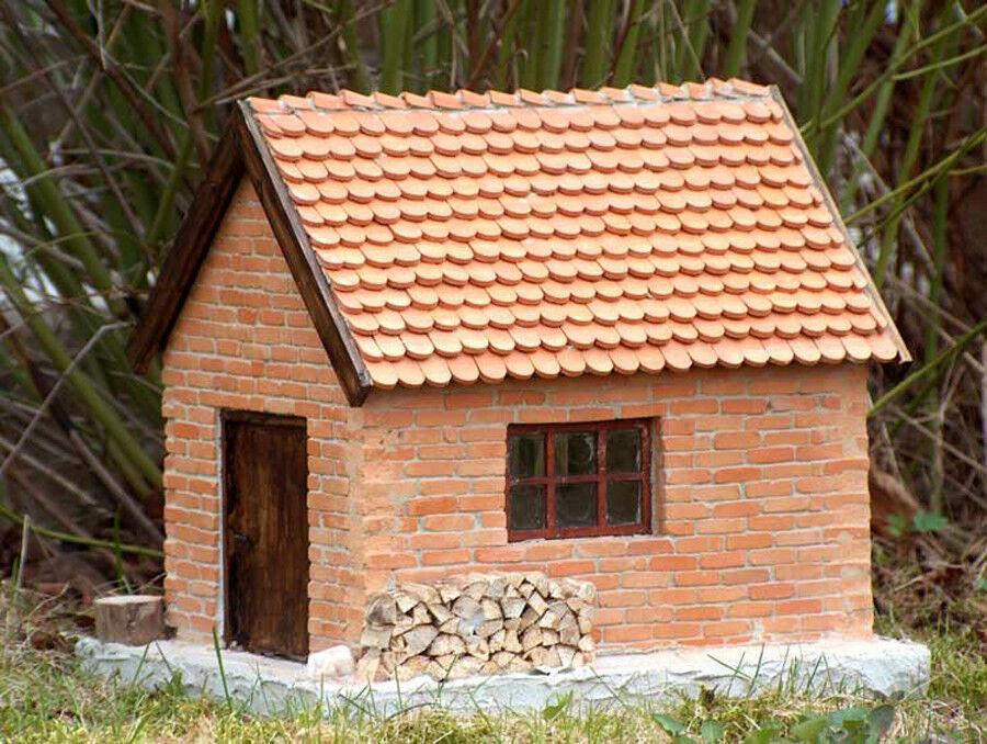 Bloxxs ladrillos casa g-11 kit ferroCocheriles para LGB spurg modellbau construir edificios