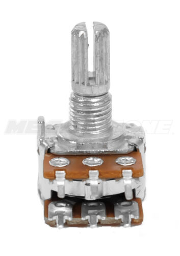 A50K Ohm Audio Dual Gang Potentiometer PCB-Mount 16mm Alpha Brand USA Seller!