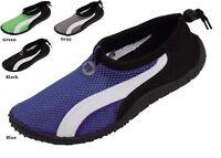 Men's Slip On Water Aqua Shoes Socks Black Blue Gray Green Sizes 7 8 9 10 11 12