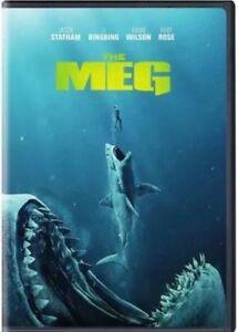 THE MEG NEW DVD 2018 883929654284