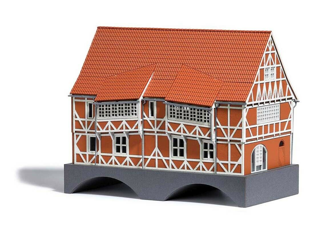Busch 1656 h0 puentes casa el bóvedas Wismar