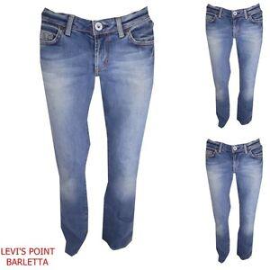 cheaper 09cfb b800d Dettagli su jeans GUESS da donna vita bassa elasticizzati pantaloni denim a  zampa w29 42 44