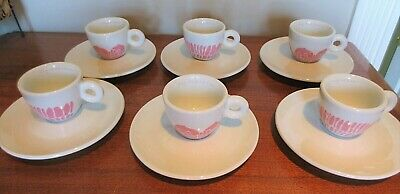 Michael Lin Collection 2006 No Saucers Included 4 x Illy Espresso Cups