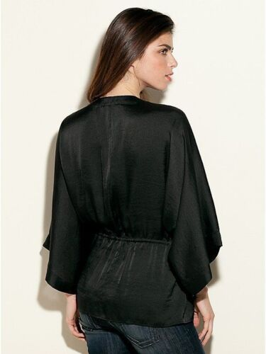 Xs Top Nd Satin Jacket Size Solid Black Guess Bed Cww8Sgq