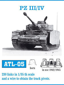 1-35-FRIULMODEL-ATL-05-METAL-TRACK-FOR-GERMAN-PANZER-III-IV-for-TAMIYA-DRAGON