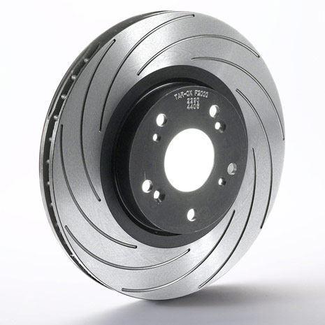 Rear F2000 Tarox Brake Discs fit Mercedes E-Class E250D 2.5 Diesel 2.5 93>95