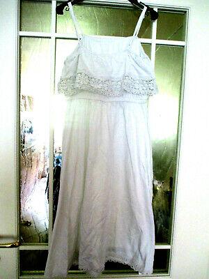 H&M traumhaftes Spaghetti Mädchen Sommer-Kleid Gr. 152 mit ...
