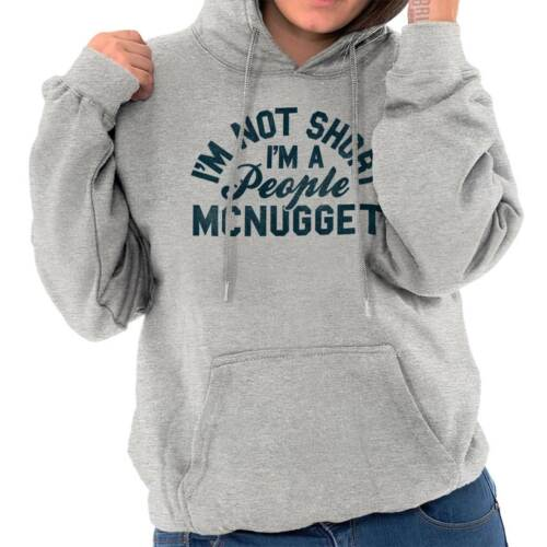 I/'m Not Short I/'m A People Nugget Funny Small Tiny Gift Hoodie