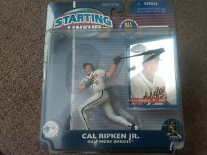 Cal Ripken Jr 2001 Hasbro Starting Lineup 2 W/ Foil Baseball Card Orioles NIP