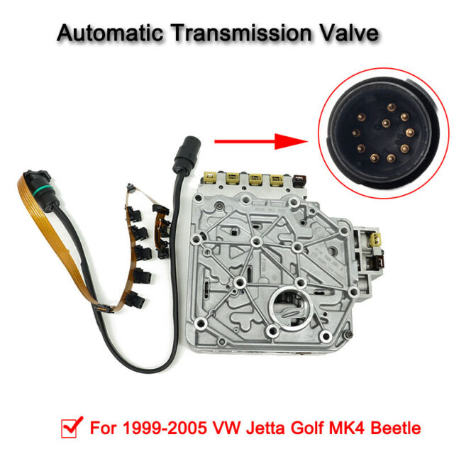 01M325283A Auto Transmission Valve Body W/ Cable For VW Golf Beetle 1998-2005 AU