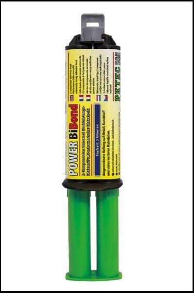 Petec 98625 Power Bibond Bi Bond Universale Adesivo Verniciabile Adhesivo 24ml