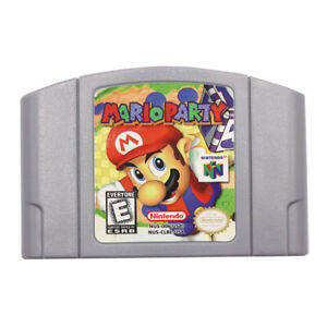 Mario-Party-1-Video-Game-Cartridge-Console-Card-US-Version-For-Nintendo-N64