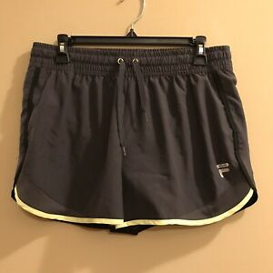 Details about Fila Sport RUNNING Shorts Sports Wear Wicking Built in Liner Size Small S