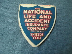 Vintage The National Life & accident Insurance Company ...
