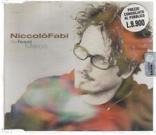 NICCOLO' FABI SE FOSSI MARCO CD SINGOLO SIGILLATO!!!