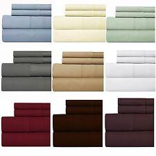 Weavely Hemstitch Bedsheet 500TC 100% Cotton Sheet Set, 4P WHITE CAL-KING