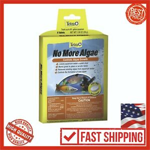 2-PACK-Tetra-No-More-Algae-Tablets-8-Count-Control-Growth-Clean-Aquarium-Fish