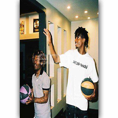 Custom Playboi Carti /& Lil Uzi Vert Silk Poster Wall Decor