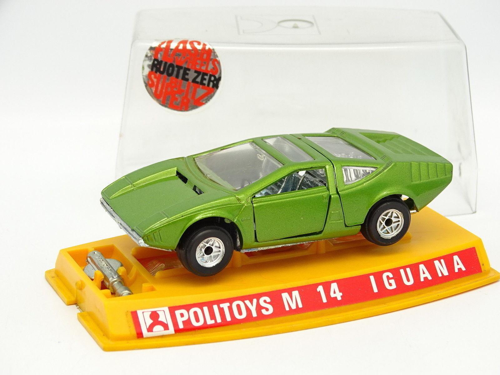 Politoys 1 43 - Alfa Romeo 33 Ital Diseño Iguana verde M14