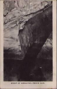 xvk-Postcard-Strait-of-Gibraltar-Penn-s-Cave