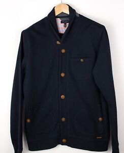 TED-BAKER-Men-Casual-Sweater-Cardigan-Jumper-Size-XL-5-ATZ701