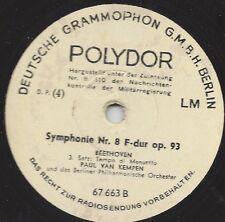Paul van Kempen dirigiert Beethoven : Symphonie Nr. 8 F-dur op 93