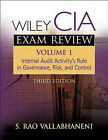 Wiley CIA Exam Review: Internal Audit Activity's Role in Governance, Risk, and Control by Rao Vallabhaneni (Paperback, 2005)
