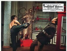 BRUCE LEE ENTER THE DRAGON OPERATION DRAGON 1973 VINTAGE PHOTO LOBBY CARD N°8