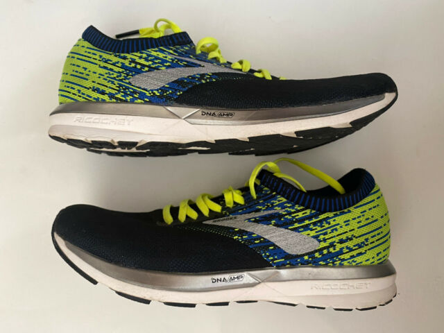 Brooks Ricochet DNA AMP Men's Size 10 Athletic Gym Sneakers Running Shoes