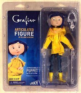 Coraline In Yellow Raincoat 7 Inch Articulated Figure Neca Laika In Stock Ebay