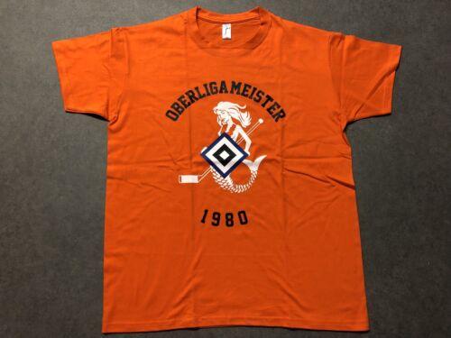 HSV-Eishockey Hamburger SV Retro T-Shirt Oberligameister 1980 Gr Eishockey Fanartikel M-XXL