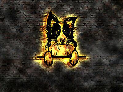 3D LED Wandbild Hund Dog Boxer Zucht Buch Züchter Welpe Welpen Rüde Deckrüde