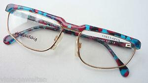 Motiviert Coeln Optik Brillen Ausgefallen Metall Bunter Plastikoberrand Für Damen Grösse M Beauty & Gesundheit