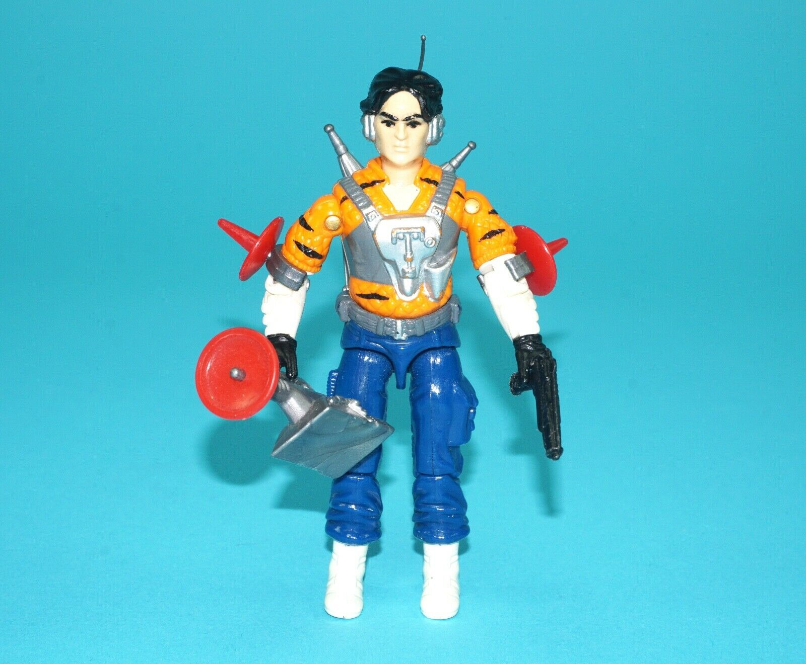1990 GI JOE TIGER FORCE PSYCHE-OUT UK   EURO EXCLUSIVE 100% COMPLETE C9 HASBRO