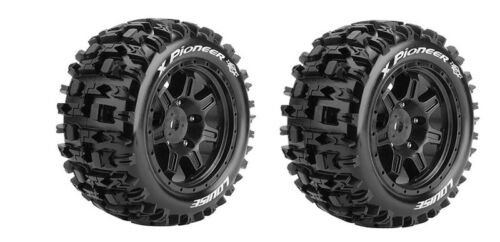 Louise RC X-Pioneer sport-pneu jante noir Traxxas X-Maxx 1:5 hex24mm 2