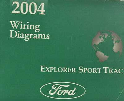 2004 Ford Explorer Sport Trac Wiring Diagrams-Original OEM ...