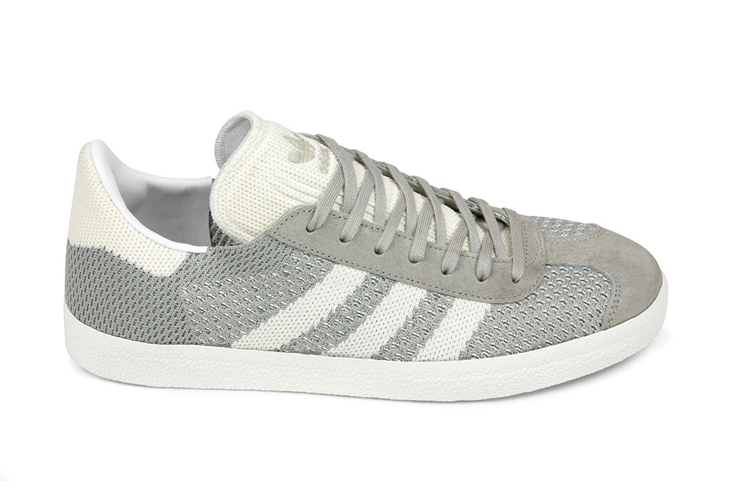 Adidas Originals Gazelle Primeknit in Sesame Off White BZ0004 BNIB Free Ship