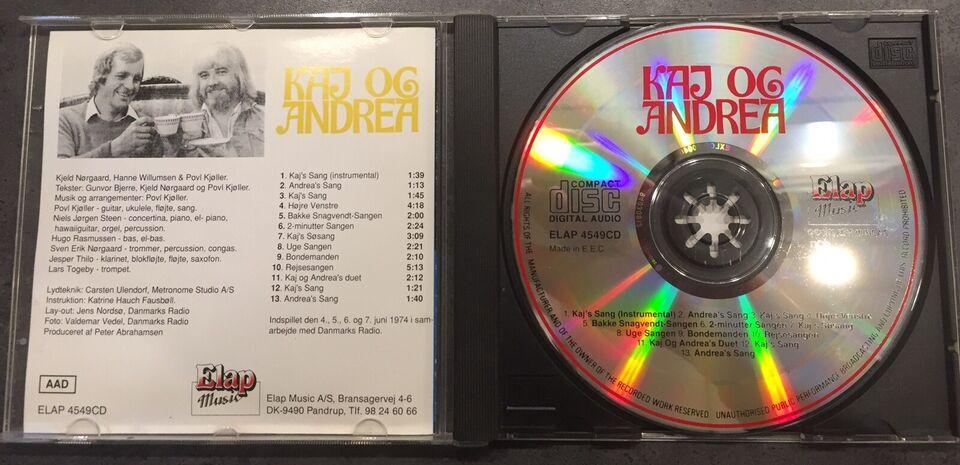 Diverse: Kaj og Andrea, børne-CD
