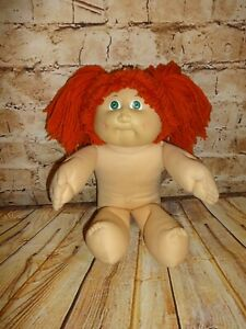 Vintage-1982-Cabbage-Patch-Kid-Red-Haired-Green-Eyes-Girl