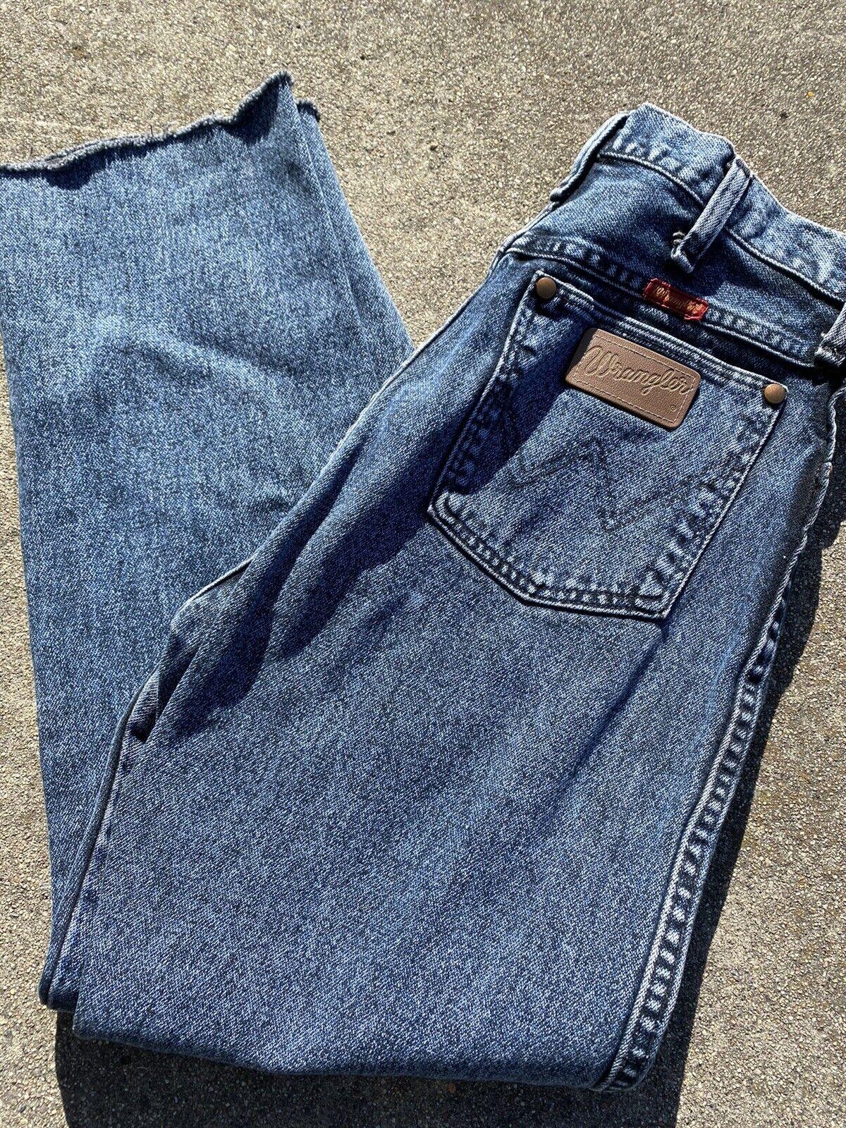 Vintage '80s Stonewashed Wrangler Jeans