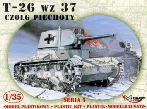 MIRAGE HOBBY® 355008 T-26 wz.37 German Version in 1:35