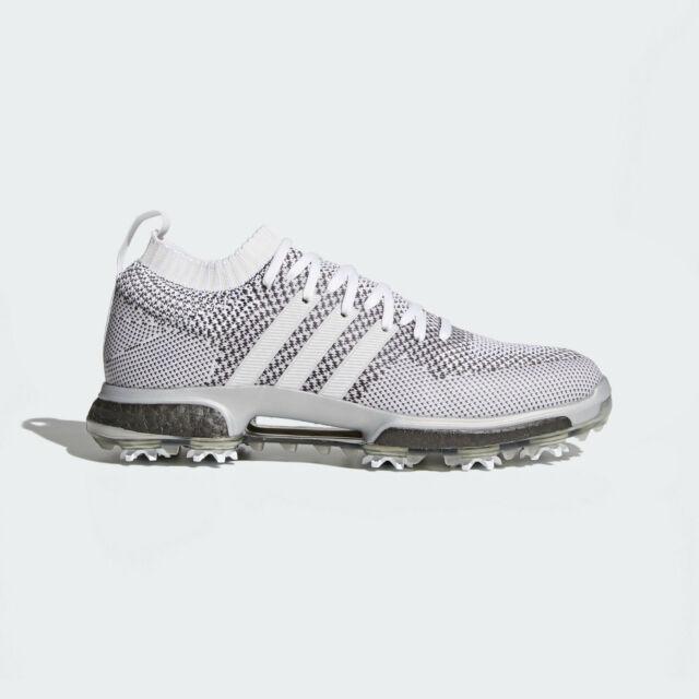 plus de photos ab3ca cfb6e adidas Tour-360 Knit Boost Men's Golf Shoes Sizes 9.5-12 White Grey AC8527