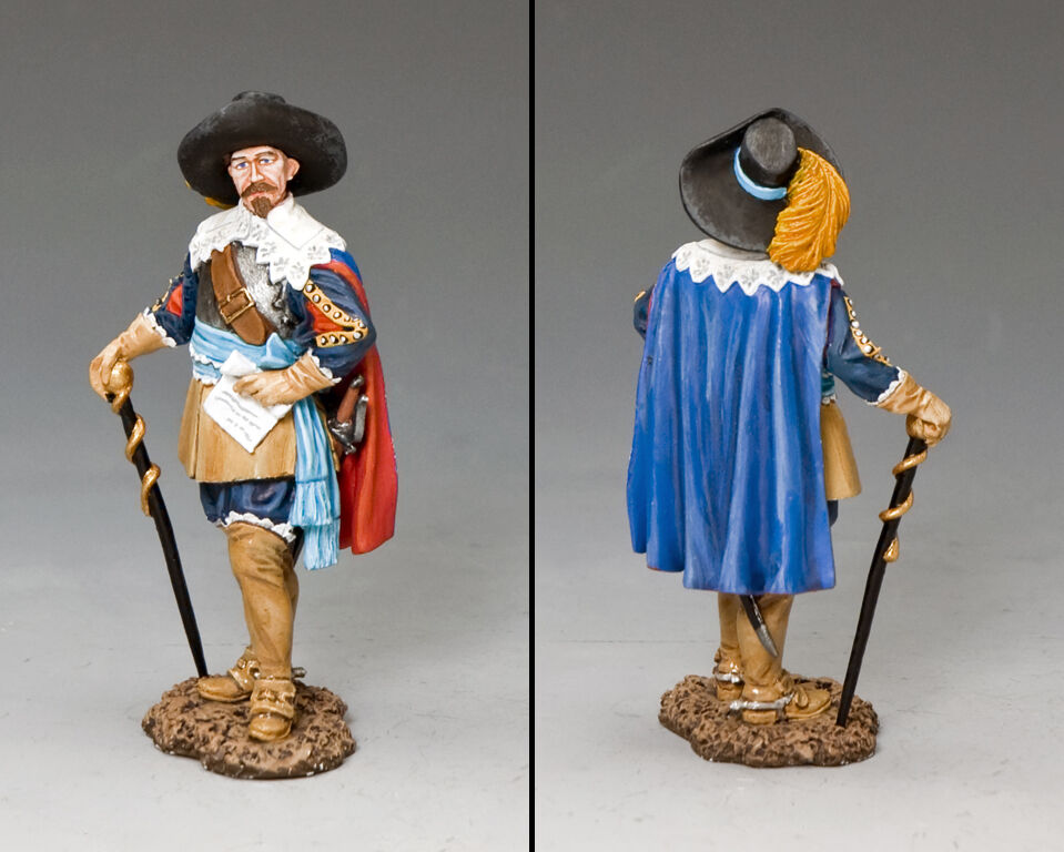 King Gustavus Adolphus of Sweden King and Country PnM074 Pike and Musket