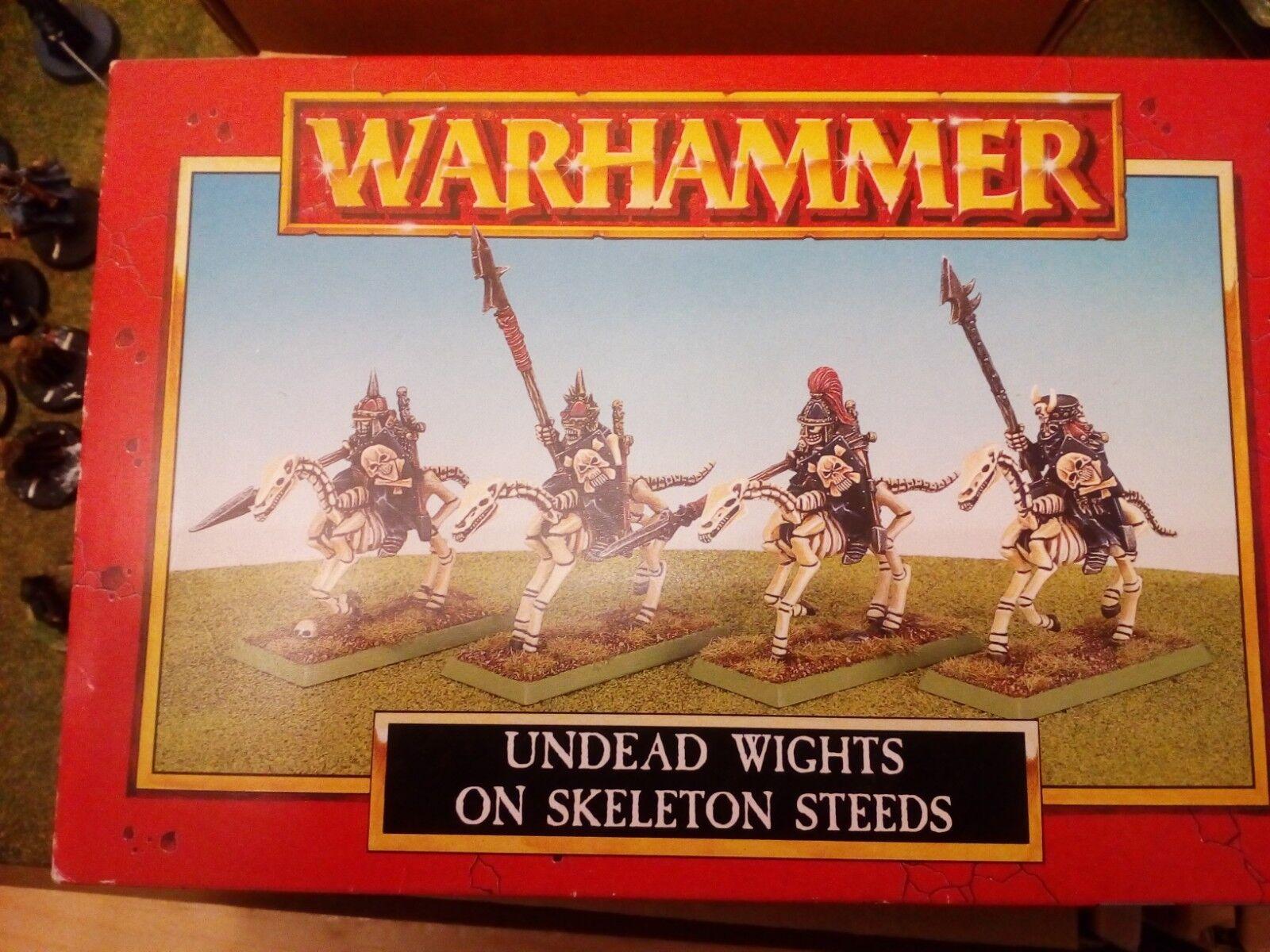 Warhammer Undead Wights On Skeleton Steeds   Cavalry Games Workshop OOP